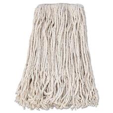 Boardwalk® Banded Cotton Mop Head - #24 - White - 12/Carton