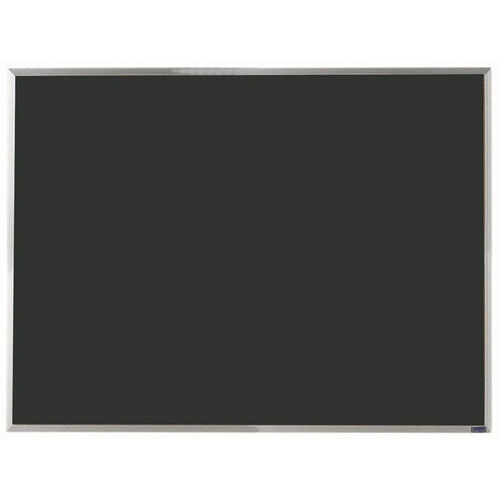 Economy Series Black Composition Chalkboard with Aluminum Frame - 36