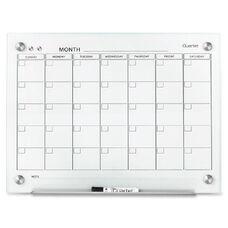 Quartet Infinity Glass Magnetic Calendar Board