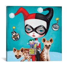 Harley Quinn by Melanie Schultz Gallery Wrapped Canvas Artwork - 37