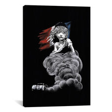 Les Miserables at Midnight by 5by5collective Gallery Wrapped Canvas Artwork