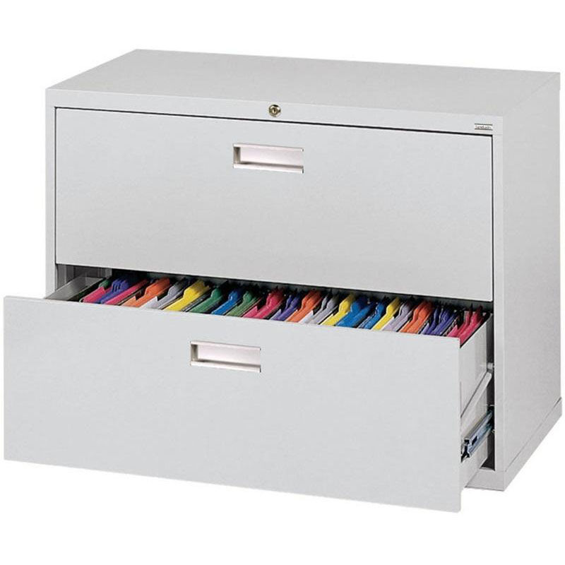 ... Two Drawer Lateral File Cabinet   Dove Gray. Product PL 101 EEL Video;  Our 600 Series 36u0027u0027 W X 19.25u0027u0027 D X 28.38u0027u0027