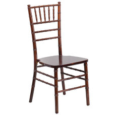 "HERCULES Series Fruitwood Chiavari Chair with <span style=""color:#0000CD;"">Free </span> Cushion"