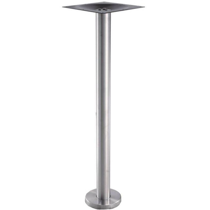 ... Our High Quality Stainless Steel Bar Height Floor Mount Outdoor Table  Base Is On Sale Now