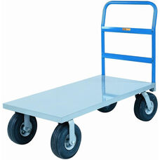 Cushion-Load Platform Truck With Pneumatic Wheels