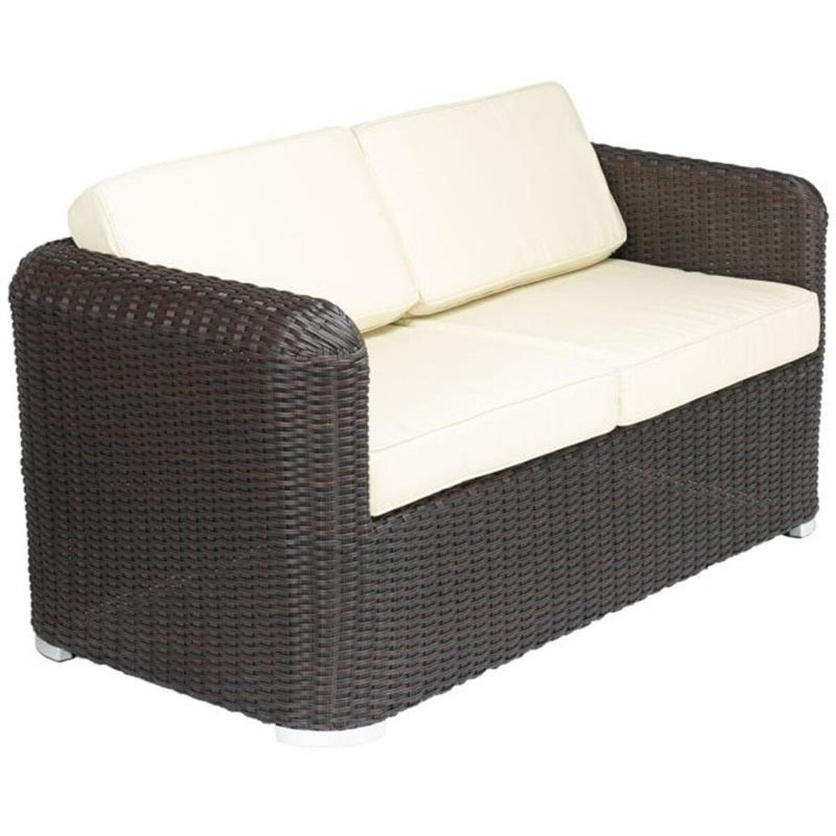 Patio Furniture Southern New Jersey: Apollo Beach Collection Outdoor Wicker Love Seat With Arms
