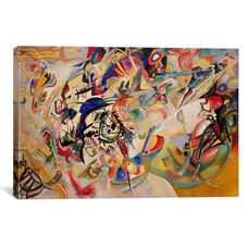 Composition VII by Wassily Kandinsky Gallery Wrapped Canvas Artwork