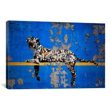 Yankee Stadium Tiger by Banksy Gallery Wrapped Canvas Artwork - 26