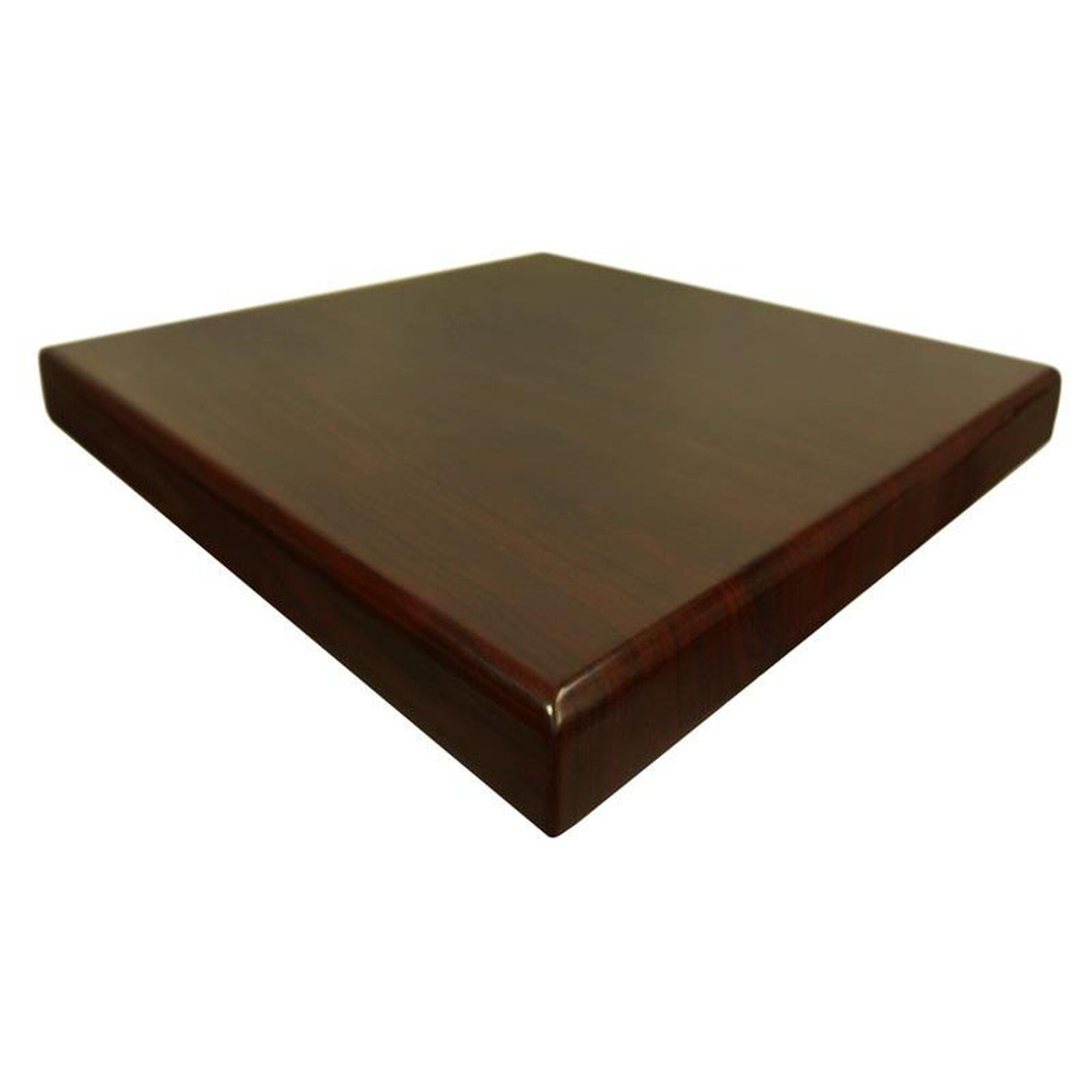 Square Mahogany Resin Table Top Ttrs3636mh