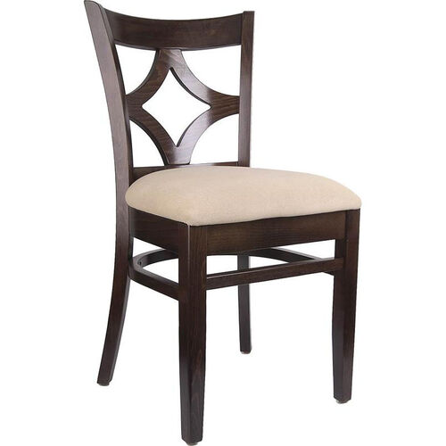 Our Diamond Back Side Chair in Walnut Wood Finish is on sale now.