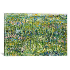 Patch of Grass by Vincent van Gogh Gallery Wrapped Canvas Artwork