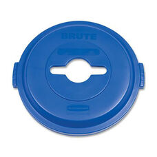 Rubbermaid Commercial Products Brute Heavy-Duty Recycling Container Lid - 22.3