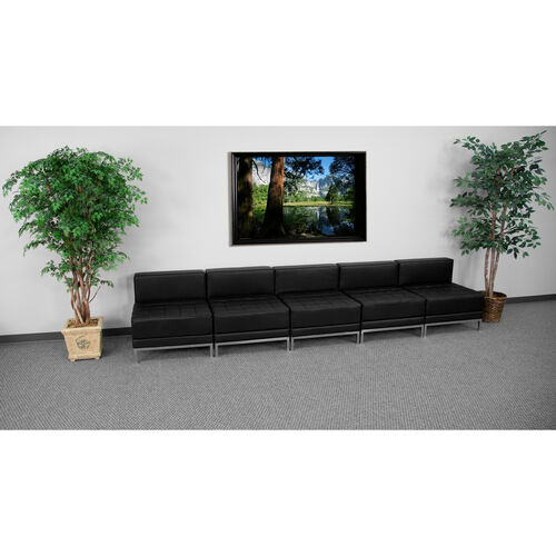 Our HERCULES Imagination Series Black LeatherSoft Lounge Set, 5 Pieces is on sale now.