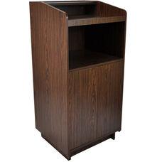 Advantage Walnut Wood Speaker's Podium