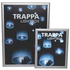 Trappa Light Box 05 with Silver Frame