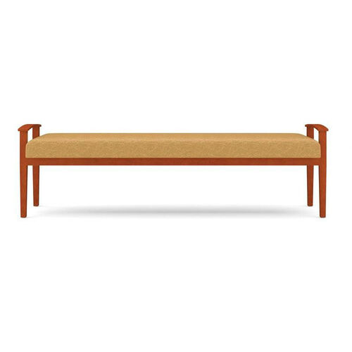 Amherst Series Open Arm 3 Seat Backless Bench
