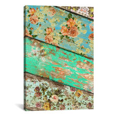 Rococo Style #3 by Diego Tirigall Gallery Wrapped Canvas Artwork