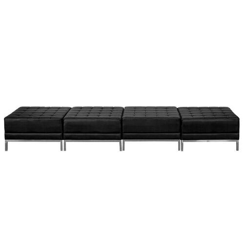 Our HERCULES Imagination Series Black LeatherSoft Four Seat Bench is on sale now.