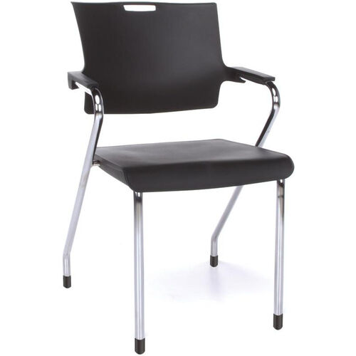 Our Smart 300 lb Capacity Stack Chair - Black is on sale now.