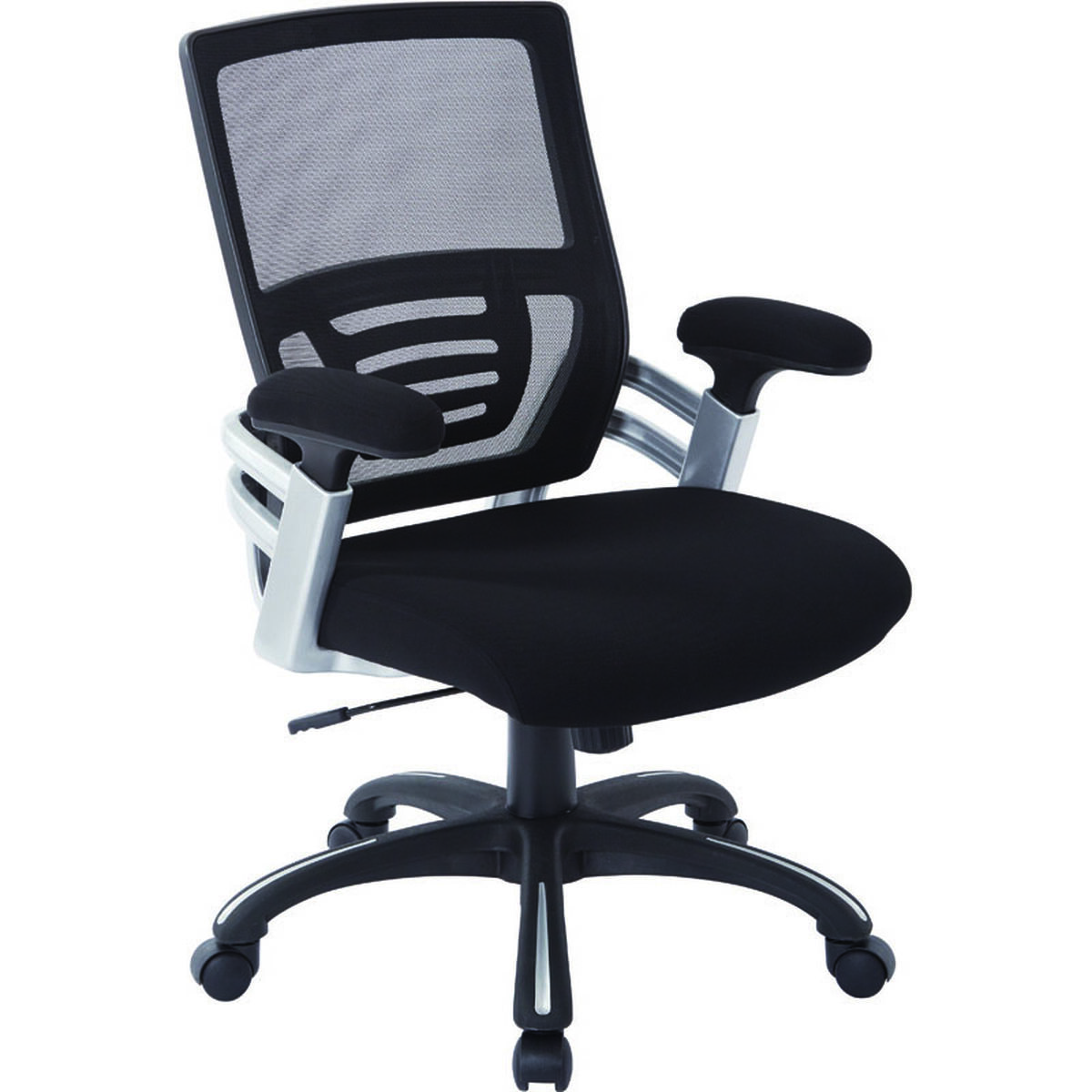 work smart black managers chair emh69176 3