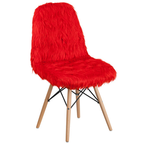 Our Shaggy Dog Red Accent Chair is on sale now.