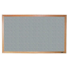 700 Series Tackboard with Wood Frame - Claridge Cork - 48