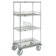 Wire Shelf Dolly Truck W/Pneumatic Wheels - 18