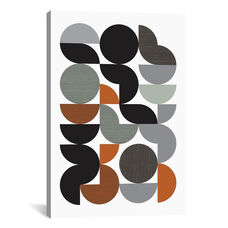 Circulate by Flatowl Gallery Wrapped Canvas Artwork