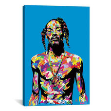 Snoop by TECHNODROME1 Gallery Wrapped Canvas Artwork