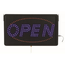 High Visibility LED OPEN Sign - 13