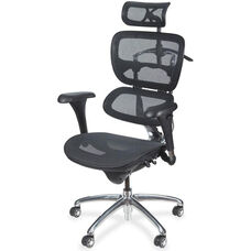 Balt Butterfly Executive Chair - Black Mesh