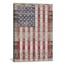 American Flag II by Diego Tirigall Gallery Wrapped Canvas Artwork - 18