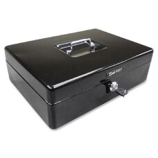 PM Company 9-Compartment Spacious Size Cash Box