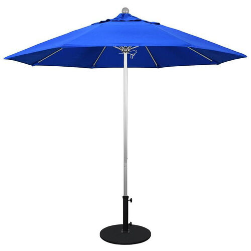 Our 9 Ft. Market Umbrella with Push Lift and Single Wind Vent - Silver Aluminum Pole is on sale now.