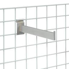 Set of 6 Chrome Shelf Bracket - 12