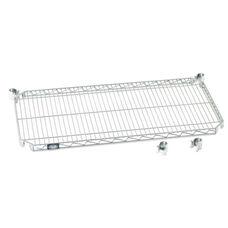 Poly-Z-Brite E-Z Adjust Wire Shelf - 18