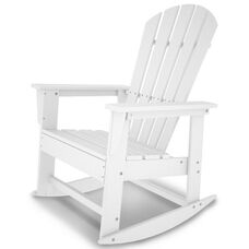 POLYWOOD® South Beach Rocker - White