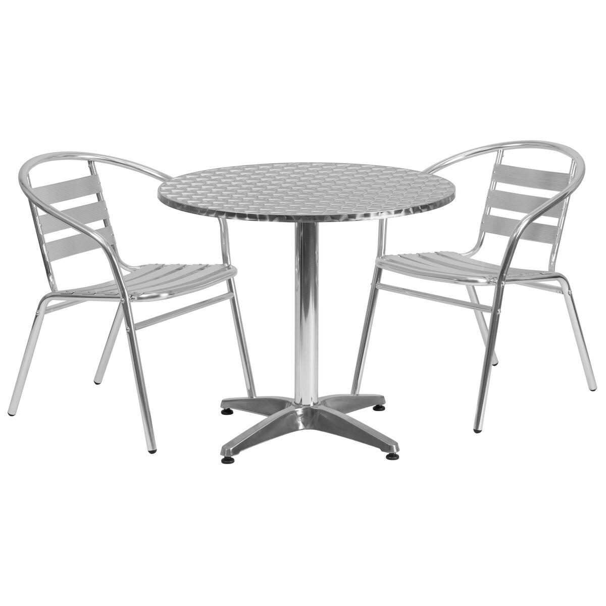 31 5rd aluminum table set tlh alum 32rd 017bchr2 gg