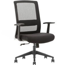 Advantage Black Mesh Office Chairs