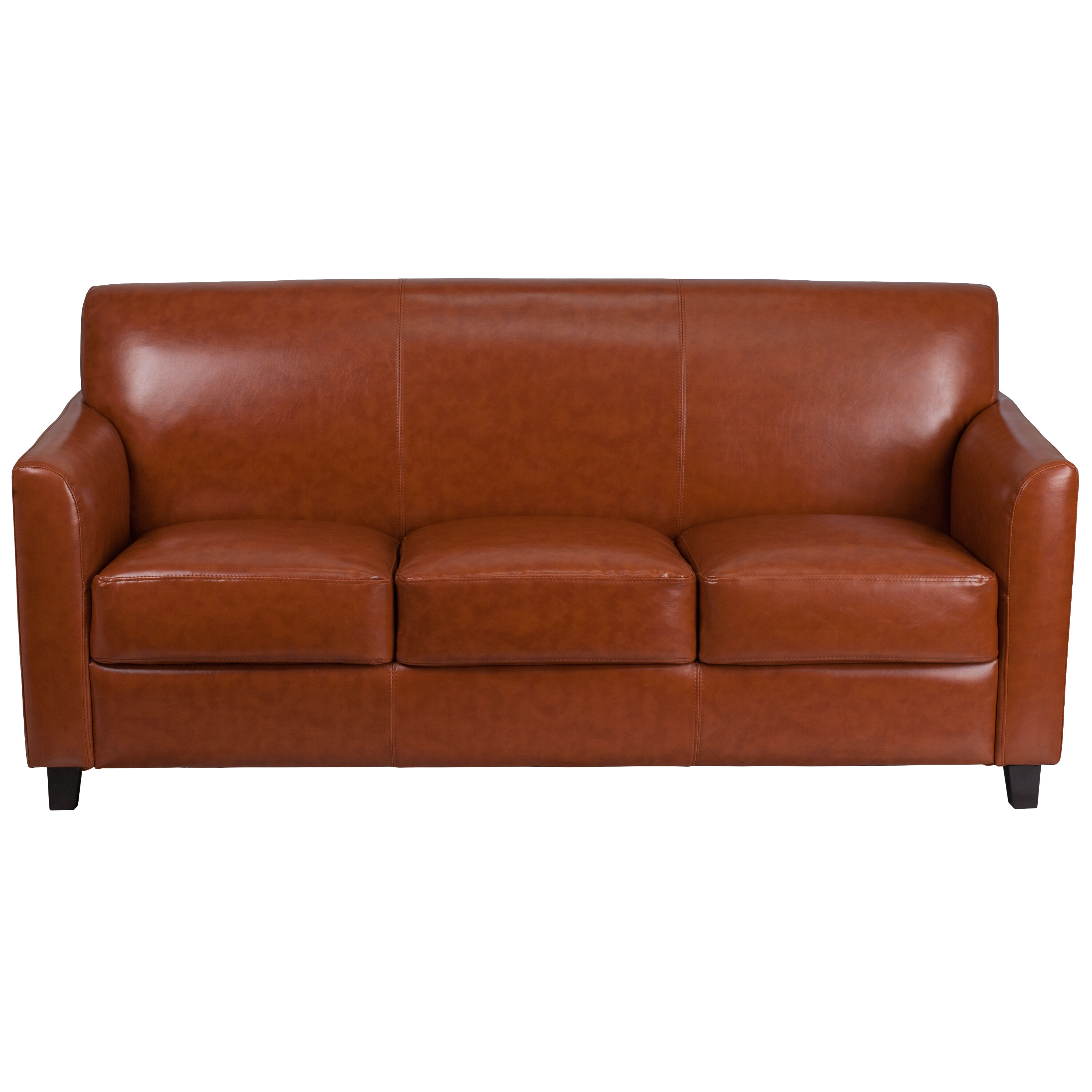 Our HERCULES Diplomat Series Cognac Leather Sofa Is On Sale Now.