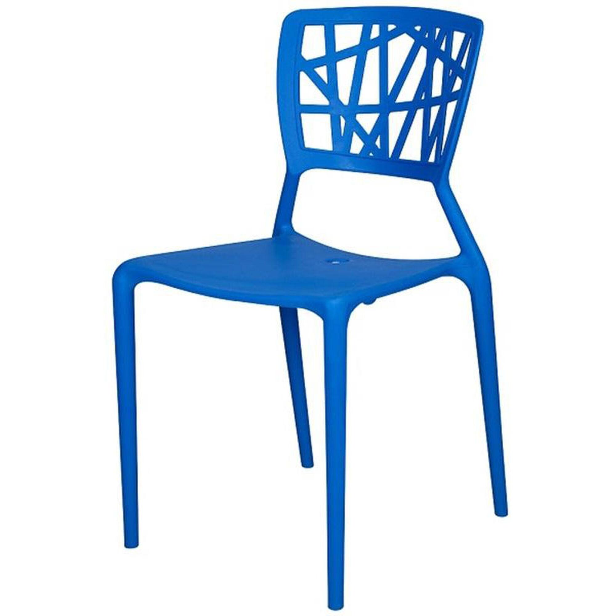 Phoenix Blue Side Stack Chair Sc 2602 162 Blu