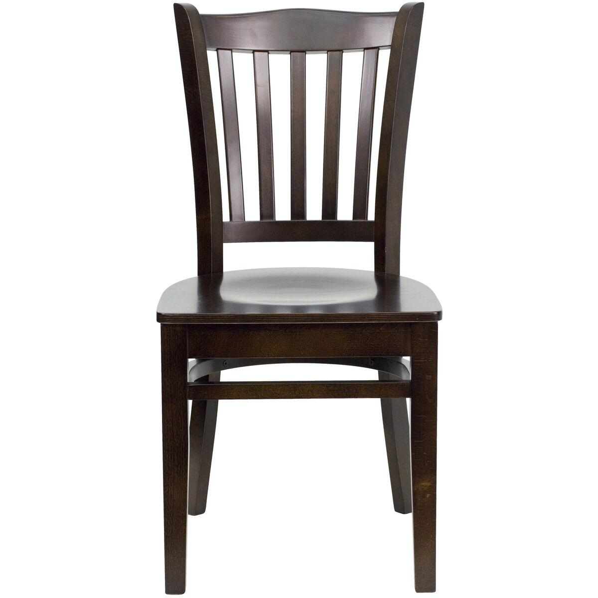 Walnut Wood Dining Chair Bfdh 8242ww Tdr