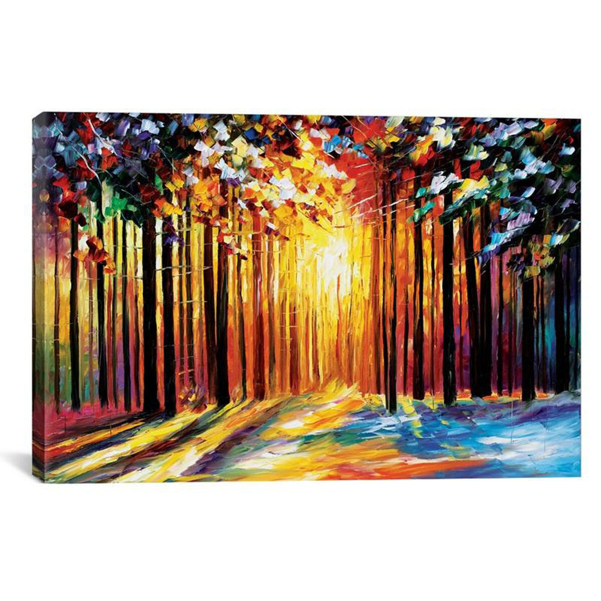canvas artwork floating frame lea84 1pc6 40x26 ff01