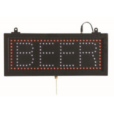 High Visibility LED BEER Sign - 6.75