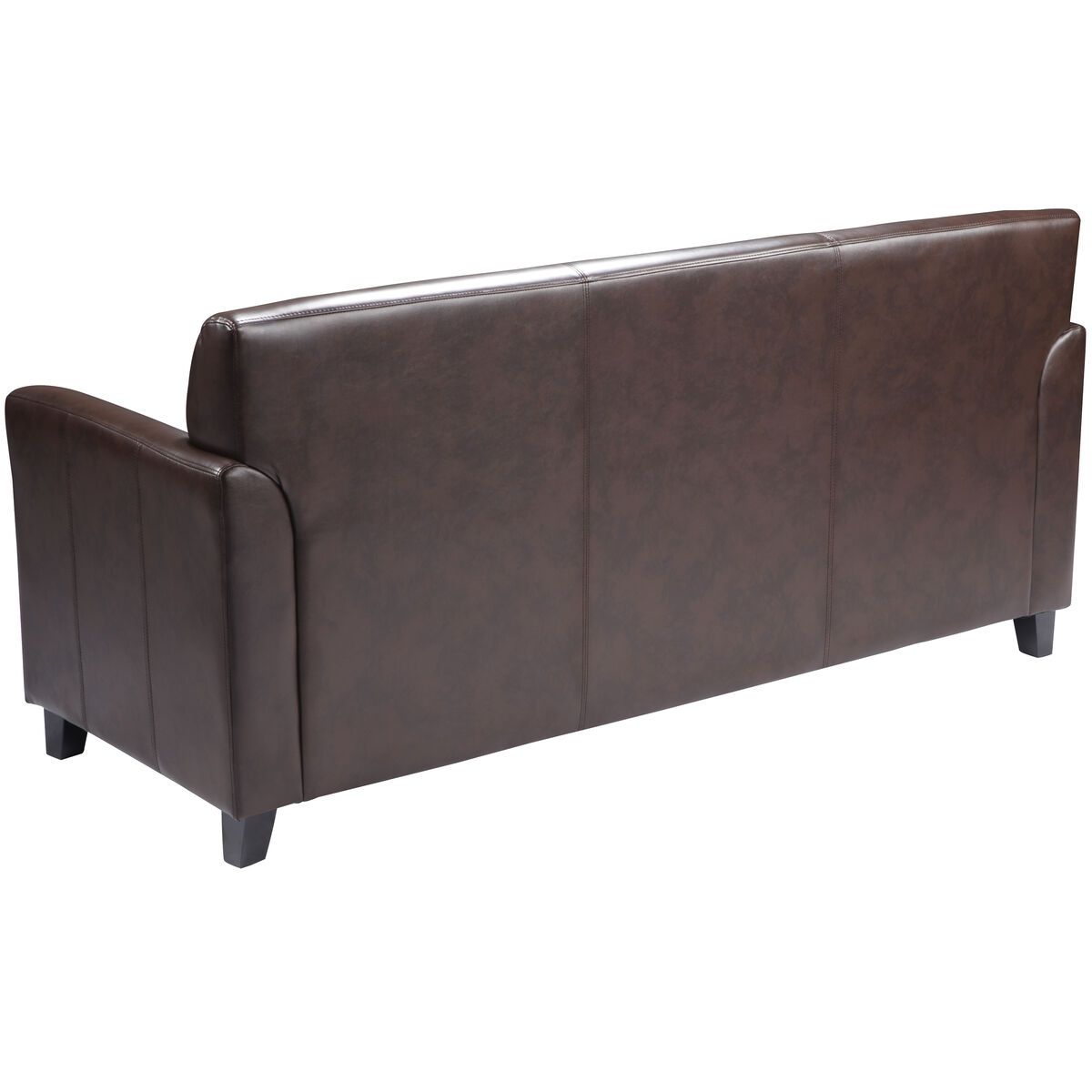 Brown Leather Sofa Bt 827 3 Bn Gg
