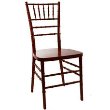 American Classic Red Mahogany Wood Chiavari Chair