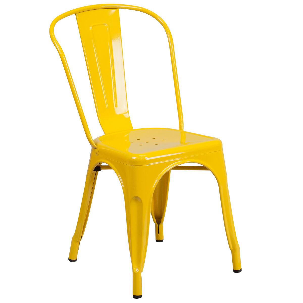 Yellow Metal Chair Ch 31230 Yl Gg