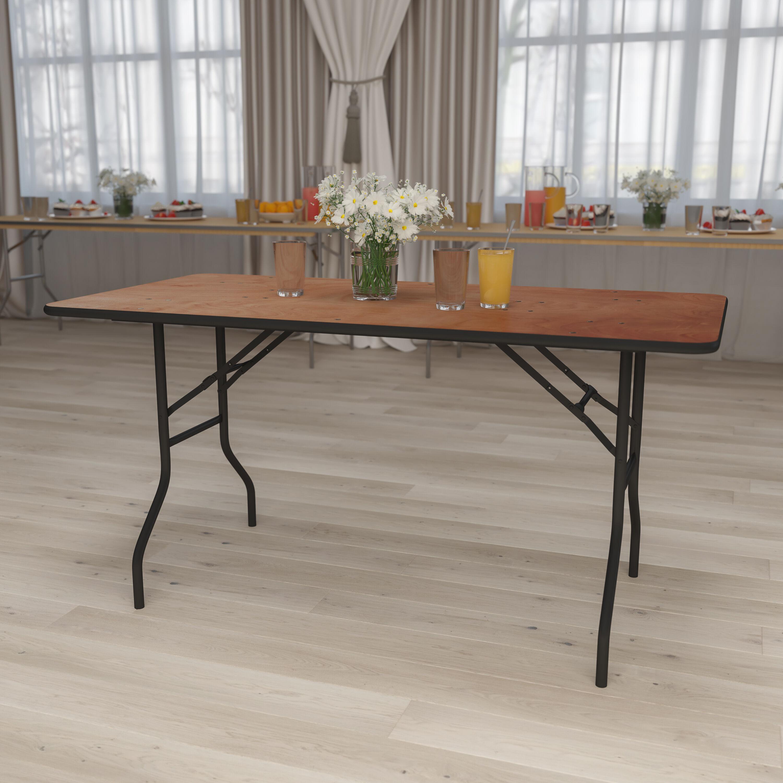 - 30x60 Wood Fold Table YT-WTFT30X60-TBL-GG