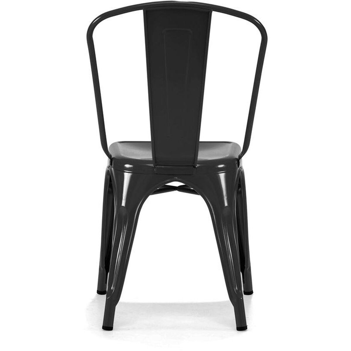 Set Of 4 Dreux Stack Side Chairs Ls 9000 Blk