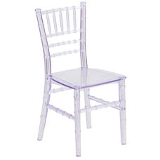 Kids Crystal Transparent Chiavari Chair